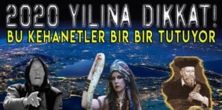 2020 Türkiye ve Dünya Kehanetleri Kahin Baba Vanga, Nostradamus ve Selenge. Türkiye'de ve dünyada 2020 yılında neler olacak. Peki neler bekliyor 2020 yılında bizleri? 2020 yılına girmeden daha önce kehanetleri gerçekleşen