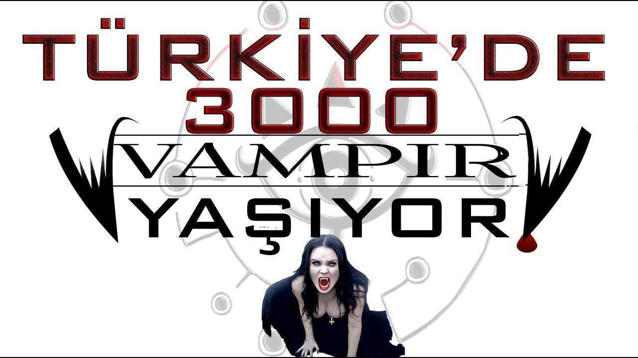 Türkiye'de 3000 vampir yaşıyor. Komplo teorisi gerçek mi?