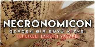Necronomicon Doğaüstü Güç Sahibi Tehlikeli Büyü Kitabı