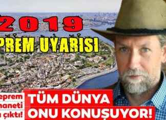 Deprem Kahini Frank Hoogerbeets Yine Bildi 2019