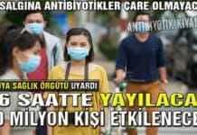 36 Saat 80 Milyon Kişi! Antibiyotik Kıyameti - Grip Salgını - Zombi Virüsü (4K)