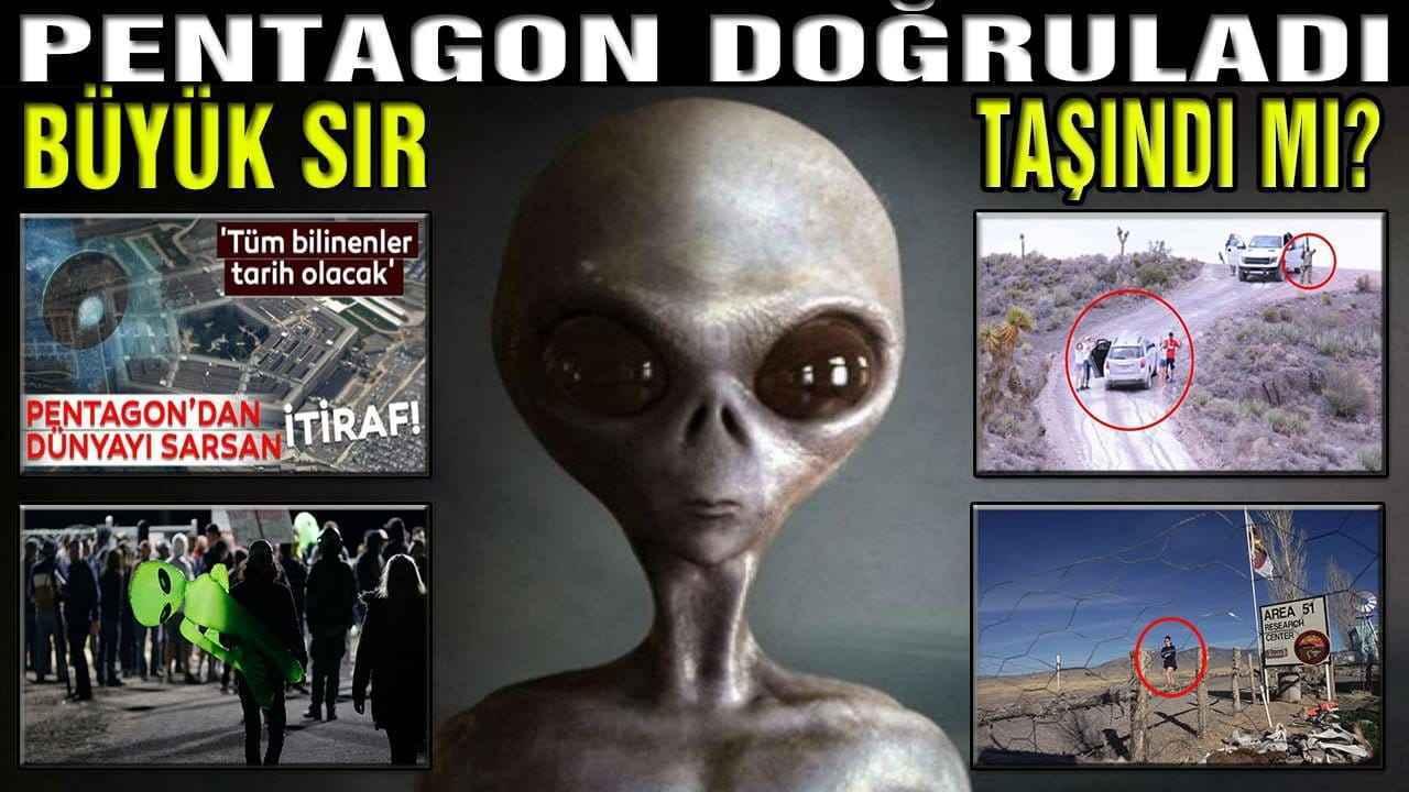 51. bölge baskını ve Pentagon ufo itirafı gündem de. Uzaylı ve ya uzaylılar ın (dünya dışı varlık), halktan gizlendiği yer olan; uçan dairelerin gizemi ve uzaylı teorilerinin merkezi. Uzaylılar var mı? Uzaylılar gerçek mi?