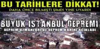 Büyük İstanbul Depremi için Deprem Kahini Hoogerbeets 2019 Türkiye Kehaneti