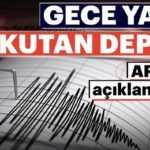 Son dakika: Kandilli Rasathanesi'nin verilerine göre, Antalya'nın Elmalı ilçesinde 4,4 büyüklüğünde deprem meydana geldi.