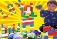 SÜPER BLOKLAR - DEV LEGO OYUNCAK PARÇALARI İLE ÖĞRENİYORUZ