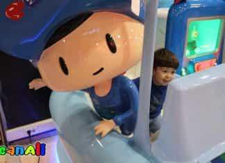Alışveriş merkezi içinde çocuk oyun alanında oyuncaklar ile oynadık. AVM çocuk oyun parkı vlog denememiz. Eğlenceli çocuk oyuncak videosu AfacanAli youtube