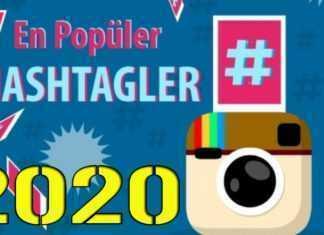 En popüler Instagram etiketleri 2020: Gönderiniz için popüler Hashtag ve Instagram etiketleri En popüler Instagram Etiketleri Tagları - 2020 Hashtag