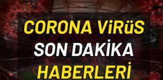 CORONA VİRÜSÜ SON DURUM: Türkiye'de ve Dünyada Koronavirüs (korona virüs) ölüm ve vaka sayısı. Dünyayı etkisi altına alan küresel salgın haline dönüşen Covid-19