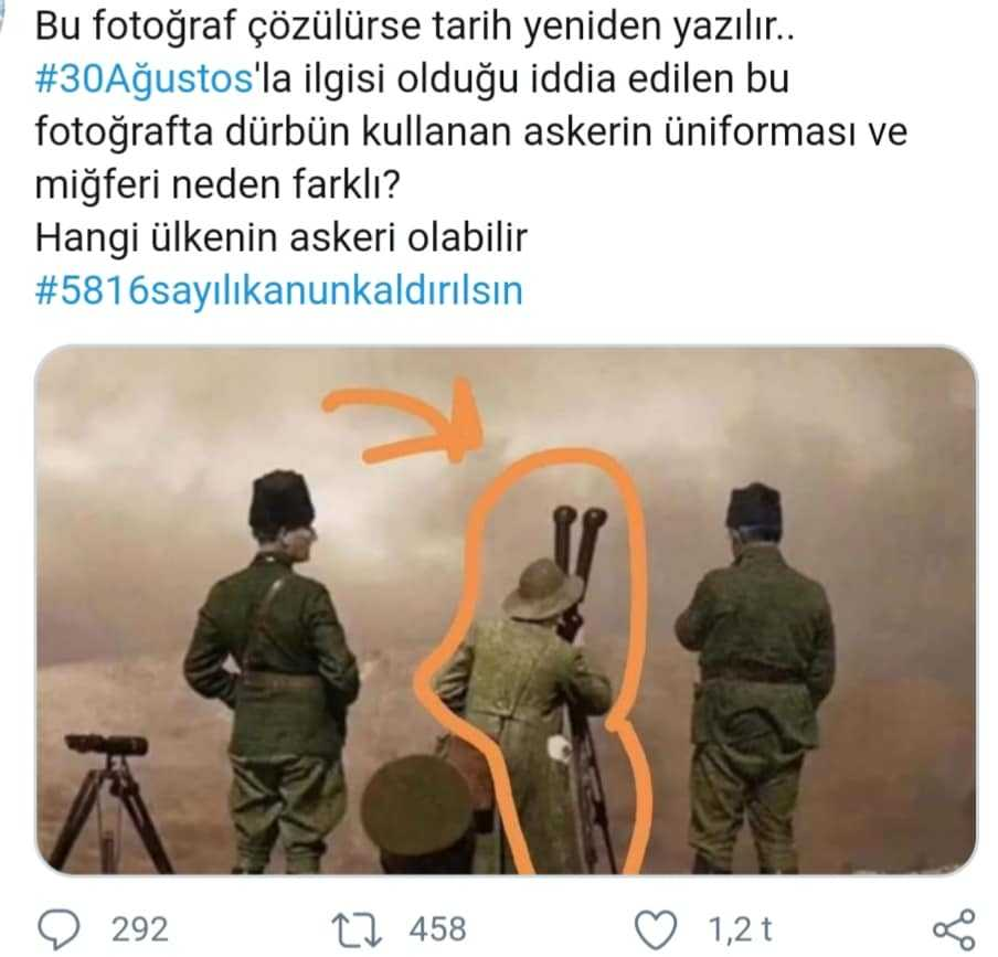 Atatürk'ün Önündeki Fötr Şapkalı Subay Kim? (Türk Tarihi)