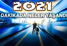 8 Dakikada 2021'de Neler Oldu? 2021 Yılında Gerçekleşen Olaylar
